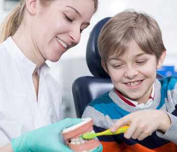 Proper oral hygiene guidance from holistic dentist Dr. Palmer in Greenville SC