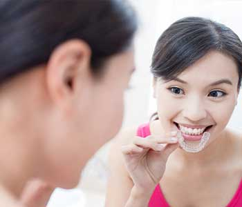 Dr. Palmer on Holistic Dentistry Invisalign/Clear Correct treatment in Greenville, SC is a convenient way to perfect your smile