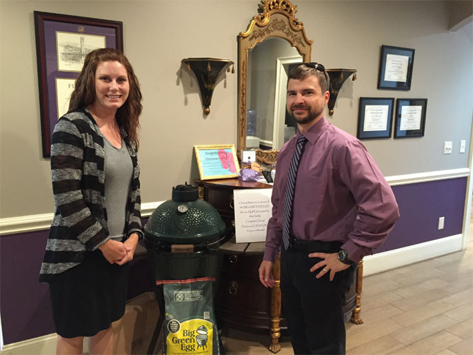 Past Contest Greenville - Winners of our Big Green Egg Referral prize!