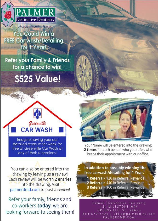 Promotion Greenville - Free Carwash Promotion