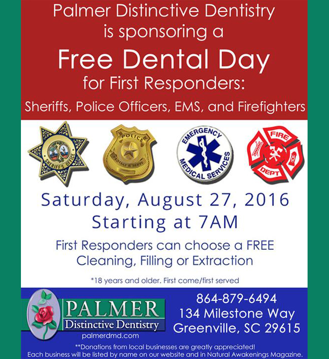 Promotion Greenville - Free Dental Day